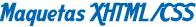 Maquetación XHTML/CSS